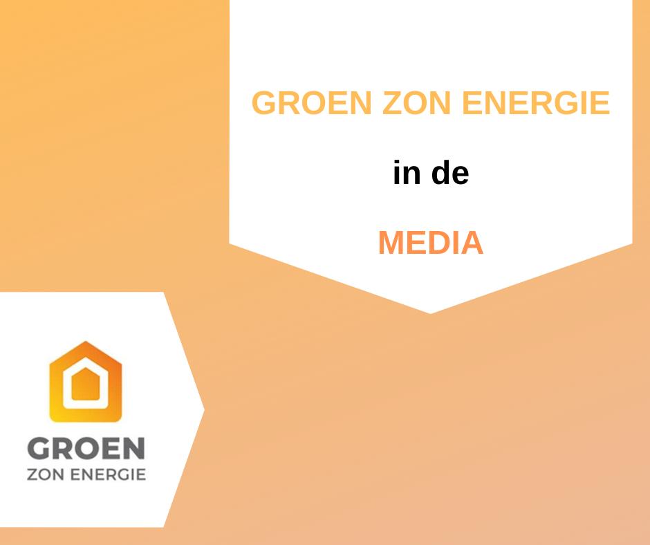 Groen Zon Energie in de media