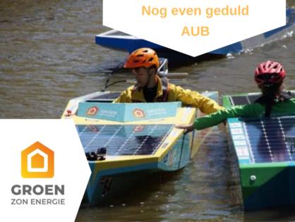 Sponsor solar boat